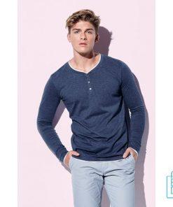 Longsleeve Heren Trendy bedrukken goedkoop, longsleeve bedrukt, bedrukte longsleeve met logo