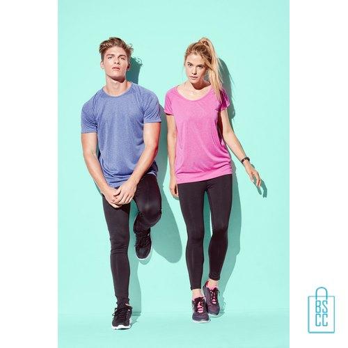 Sport-Shirt Heren Active Dry bedrukken goedkoop