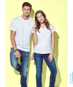 T-Shirt Dames Jersey bedrukken met logo