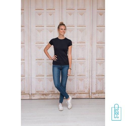 T-Shirt Dames Katoen bedrukken goedkoop