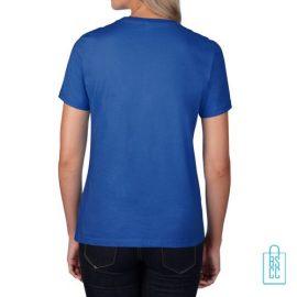 T-Shirt Dames Premium bedrukken, T-shirt met opdruk, goedkope basic shirts