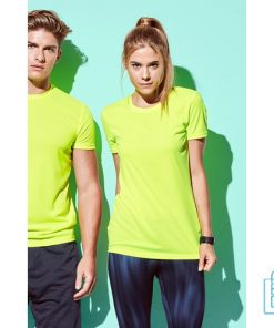 T-Shirt Dames Sport Dry-Fit bedrukken goedkoop