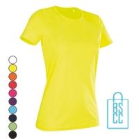 T-Shirt Dames Sport Dry-Fit bedrukken