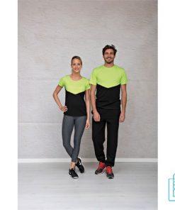 T-Shirt Dames Sport Duo bedrukken unisex