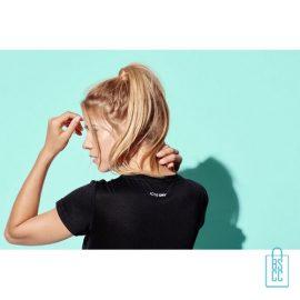 T-Shirt Dames Sport Katoen bedrukken goedkoop