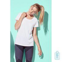 T-Shirt Dames Sport Katoen bedrukt