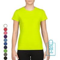 T-Shirt Dames Sport bedrukken