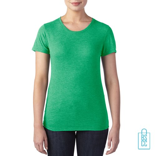 T-Shirt Dames Trendy bedrukken, T-Shirt goedkoop bedrukt