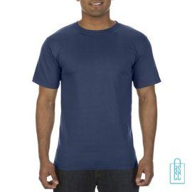 T-Shirt Heren Fashion bedrukken blauw