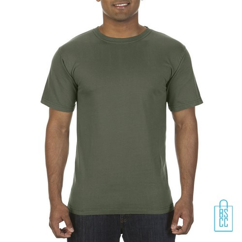 T-Shirt Heren Fashion bedrukken groen