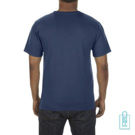 T-Shirt Heren Fashion bedrukt blauw
