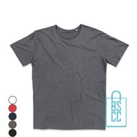 T-Shirt Heren Fijn Katoen bedrukken