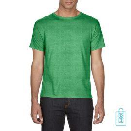 T-Shirt Heren Goedkoop bedrukken groen