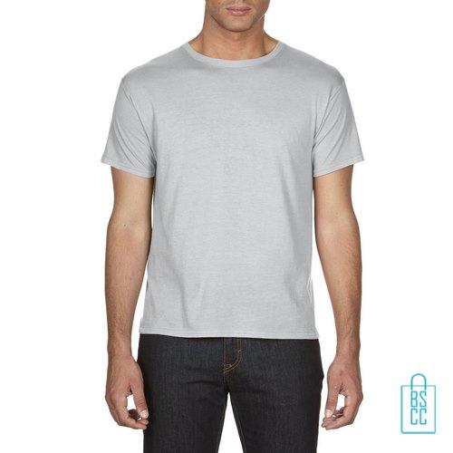 T-Shirt Heren Goedkoop bedrukken lichtgrijs (2)