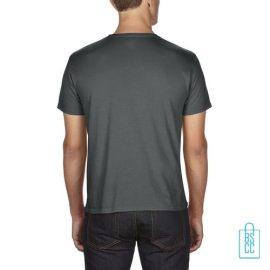 T-Shirt Heren Goedkoop bedrukt grijs