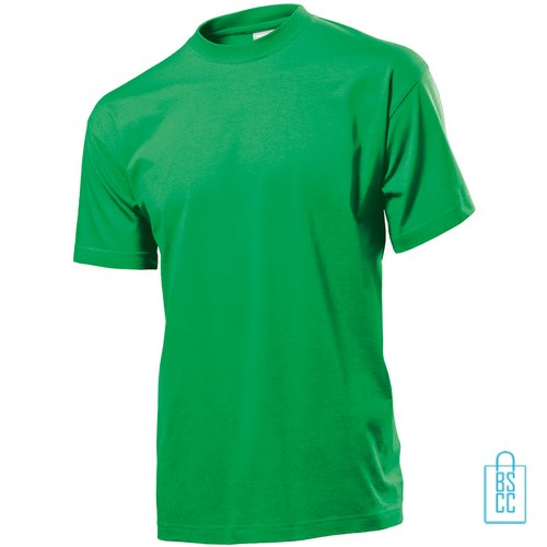 T-Shirt Heren Jersey bedrukken groen