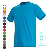 T-Shirt Heren Jersey bedrukken