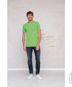 T-Shirt Heren Lang bedrukt