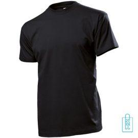 T-Shirt Heren Ronde Hals bedrukken zwart