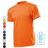 T-Shirt Heren Ronde Hals bedrukken