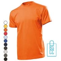 T-Shirt Heren Ronde Hals bedrukken