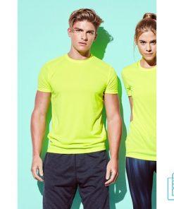 T-Shirt Heren Sport Dry-Fit bedrukken met logo