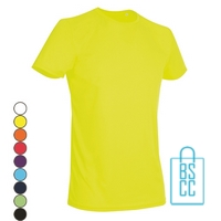 T-Shirt Heren Sport Dry-Fit bedrukken