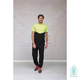 T-Shirt Heren Sport Duo bedrukken eigen ontwerp