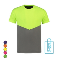 T-Shirt Heren Sport Duo bedrukken