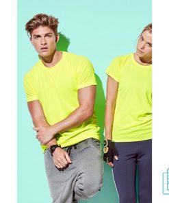 T-Shirt Heren Sport Goedkoop bedrukken met opdruk