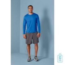 T-Shirt Heren Sport Longsleeve bedrukken goedkoop
