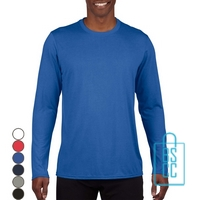 T-Shirt Heren Sport Longsleeve bedrukken