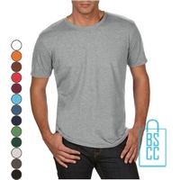 T-Shirt Heren Trendy bedrukken