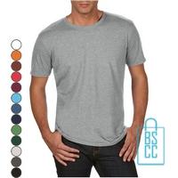 T-Shirt Heren Trendy bedrukken
