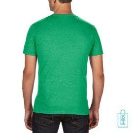T-Shirt Heren Trendy bedrukt groen