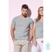 T-Shirt Heren V-Hals Cotton bedrukken goedkoop, v-hals bedrukt, bedrukte v-hals met logo