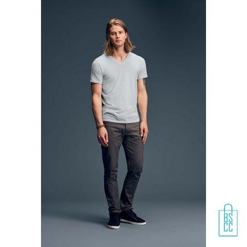 T-Shirt Heren V-hals Goedkoop bedrukken met logo, v-hals bedrukt, bedrukte v-hals met logo