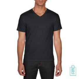 T-Shirt Heren V-hals Goedkoop bedrukken zwart, v-hals bedrukt, bedrukte v-hals met logo