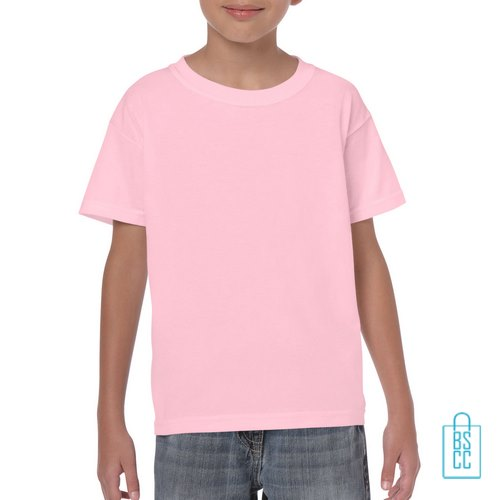 T-Shirt Kind Color Bedrukken babyroze