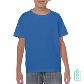 T-Shirt Kind Color Bedrukken blauw