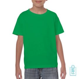 T-Shirt Kind Color Bedrukken groen