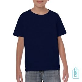 T-Shirt Kind Color Bedrukken navy