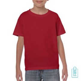 T-Shirt Kind Color Bedrukken rood