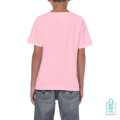 T-Shirt Kind Color Bedrukt babyroze