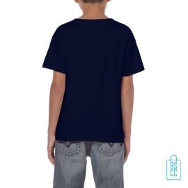 T-Shirt Kind Color Bedrukt navy