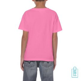 T-Shirt Kind Color bedrukt roze