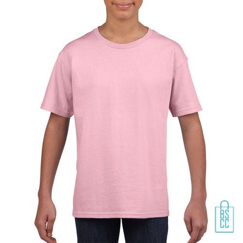 T-Shirt Kind Uni bedrukken babyroze
