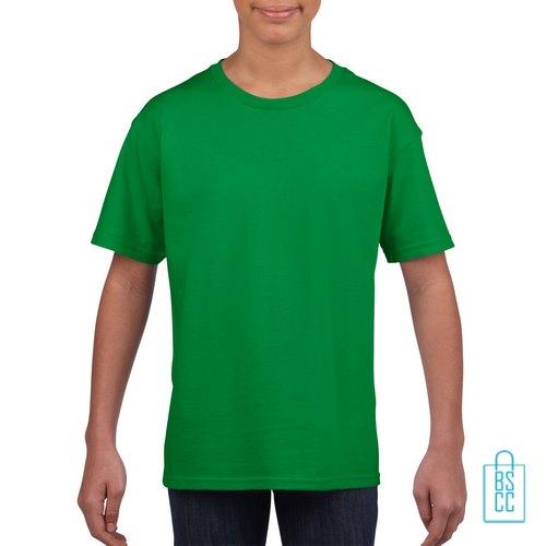 T-Shirt Kind Uni bedrukken groen