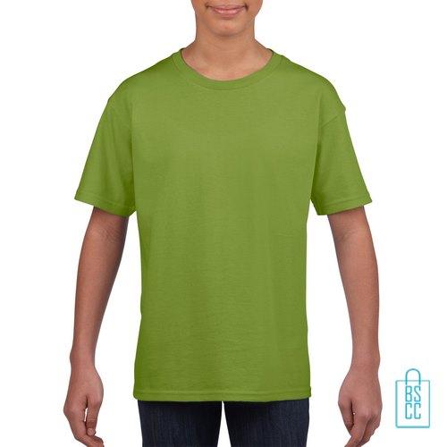T-Shirt Kind Uni bedrukken kiwigroen