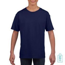 T-Shirt Kind Uni bedrukken navy